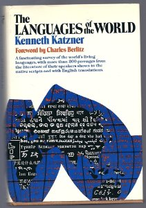 KennethKatzner_LanguagesOfTheWorld